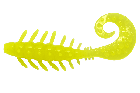 LureMax ZUMA 3,5''/8,5 см, 001 - Chartreuse (5шт)