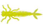LureMax KARAKATITSA 2''/5 см, 001 - Chartreuse (8шт)